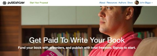 Publishizer Is A Crowdfunding Solution That Connects Authors With Publishers