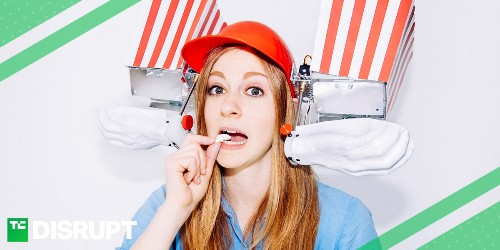 Roboticist and YouTube star Simone Giertz is coming to Disrupt SF (Oct. 2-4)