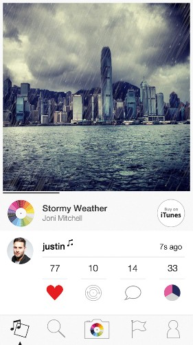 New Tunepics Social Network Is Like Instagram With A Soundtrack