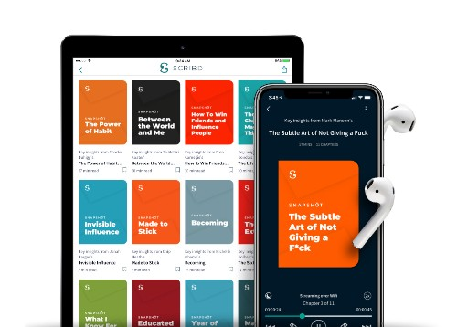 Scribd introduces bite-sized nonfiction previews called Snapshots