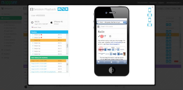 With $1M In Funding, Appsee Promises Mobile Developers Real Insight Into Their Users