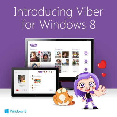 Viber Desktop Launches On Windows 8