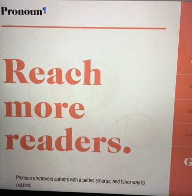 Pronoun, A Self-Publishing Platform For Authors, Is Ready To Serve Humanity