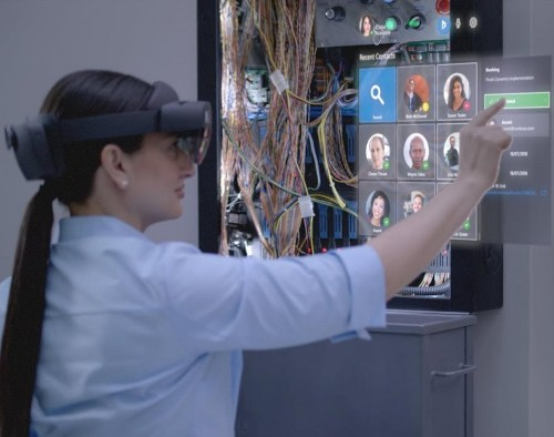 Here are the first leaked images of Microsoft's new HoloLens