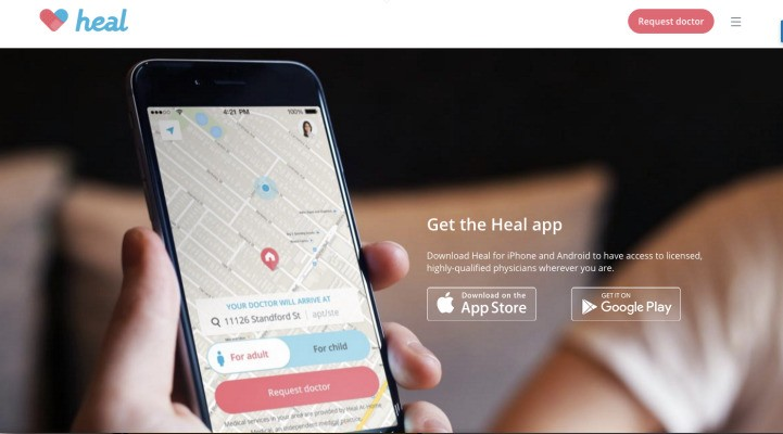 Bringing doctors to patients for on-demand house calls, Heal raises $26.9 million