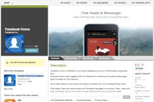 Facebook Home Now Live On Google Play, A Free App For HTC One X And X+, Samsung Galaxy S III and Note II