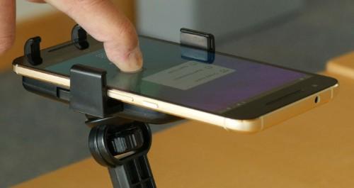 ForcePhone adds pressure sensitivity to any phone using ultrasonics
