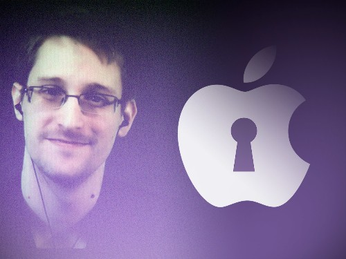 Edward Snowden Supports Apple's Public Stance On Privacy