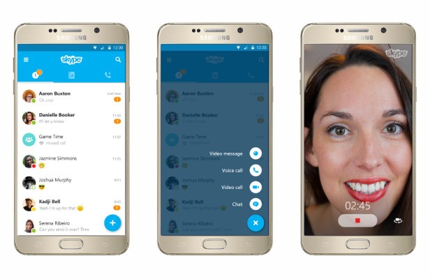 Skype Gives Its iOS And Android Apps A Makeover