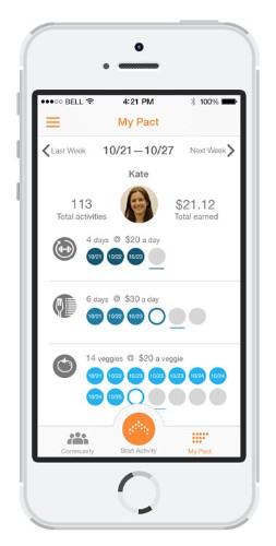 GymPact, The App That Pays You For Working Out, Relaunches As Pact With New Diet Features