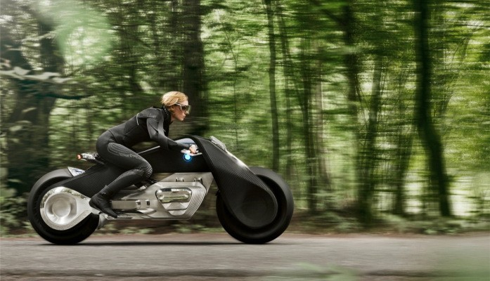 BMW's motorcycle concept is so smart you won't need a helmet to ride it