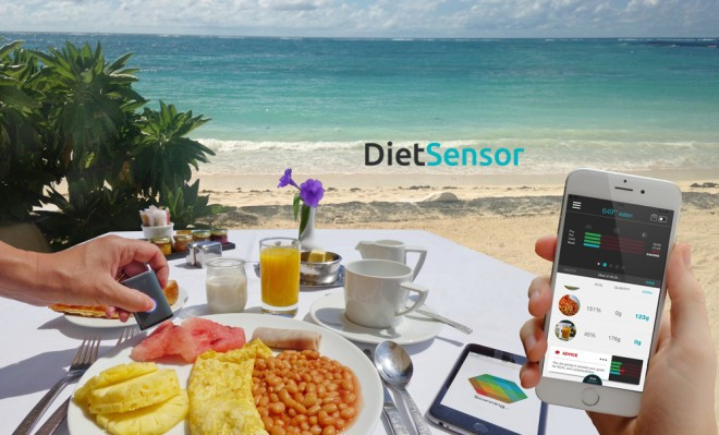 DietSensor Scans Your Food For Calories