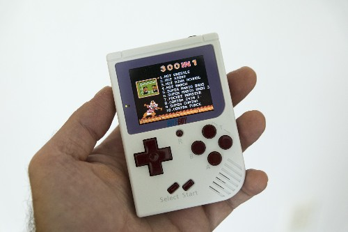 BittBoy is a retro pocket console that does a lot for very little