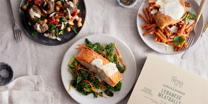 Nestlé leads $77M round for healthy meal startup Freshly