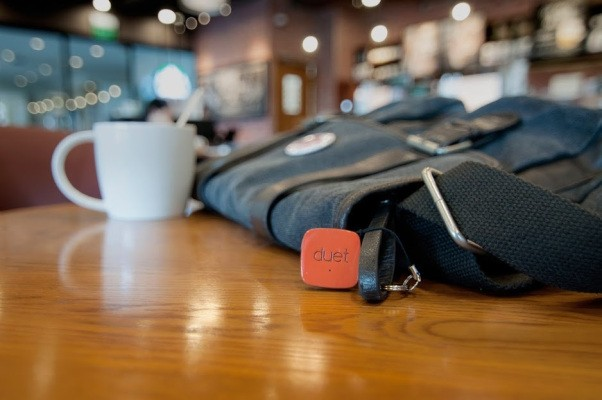 Duet Takes On Tile With A Small, Square Lost Item Finder That Also Lets You Replace The Battery