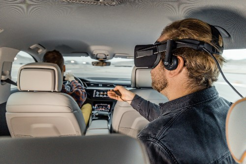 I used VR in a car going 90 mph and didn't get sick