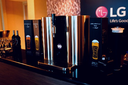 LG's capsule-based beer maker will test your patience