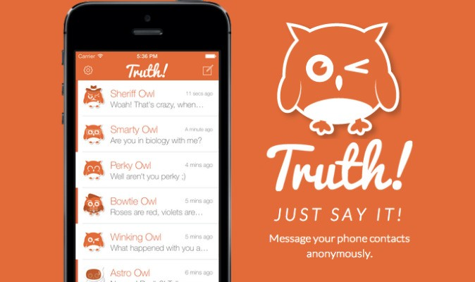 Truth Lets You Send Anonymous Texts – TechCrunch