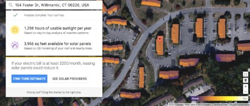 Google's Project Sunroof Now Tells More Homeowners How Well Solar Would Work On Their Roofs
