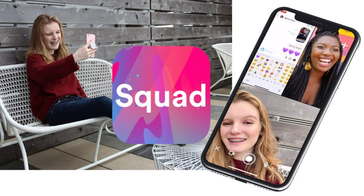 Squad is the new screensharing chat app everyone will copy