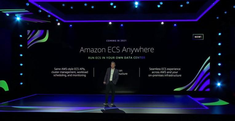 AWS brings ECS, EKS services to the data center, open sources EKS