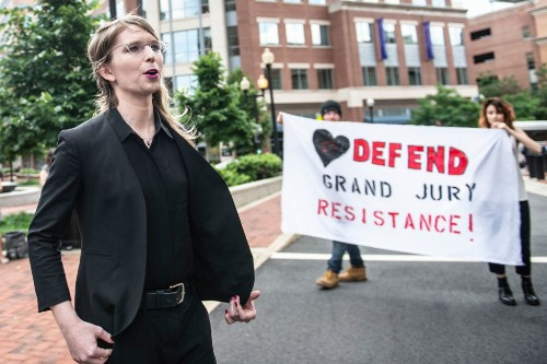 Chelsea Manning is back in jail after refusing to cooperate with WikiLeaks investigation
