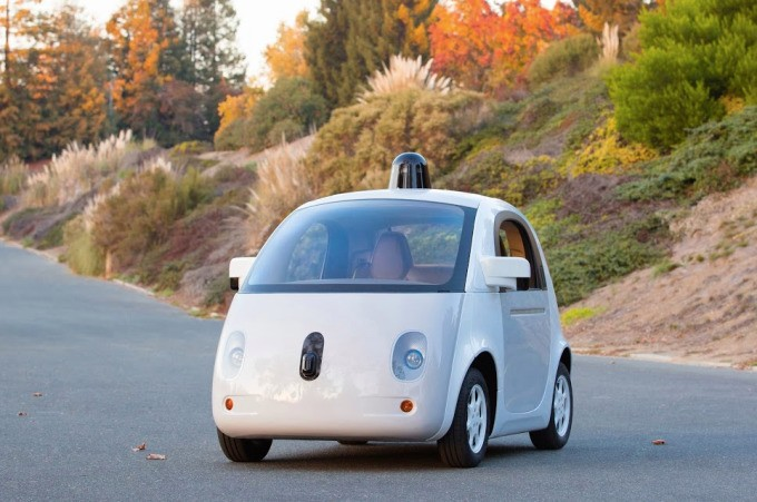 Here's What Google's First Custom-Built Self-Driving Car Looks Like Now
