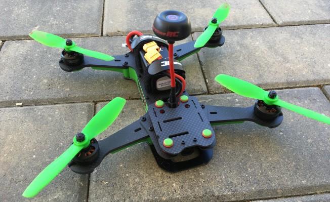The Vortex 250 is the Lamborghini of racing drones