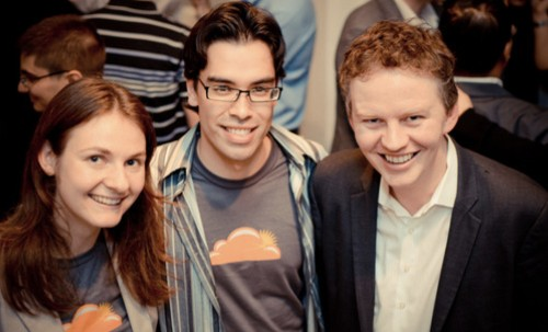 Cloudflare has a third cofounder, Lee Holloway, who's credited with making the company what is today