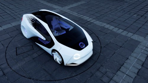 Toyota's Concept-i is a vehicle designed to learn about its driver