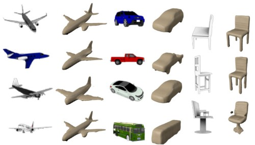 This algorithm cleverly recreates 3D objects from tiny 2D images