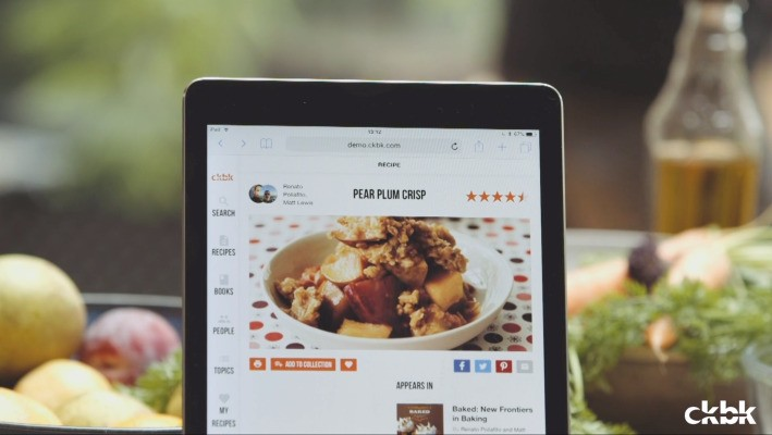 ckbk pulls a 'Spotify for recipes' out of the beta oven – TechCrunch