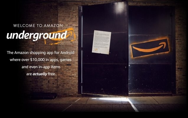 """Amazon Underground Features An Android App Store Focused On """"Actually Free"""" Apps"""