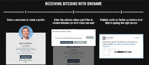 Onename.io Aims To Streamline Bitcoin Transactions
