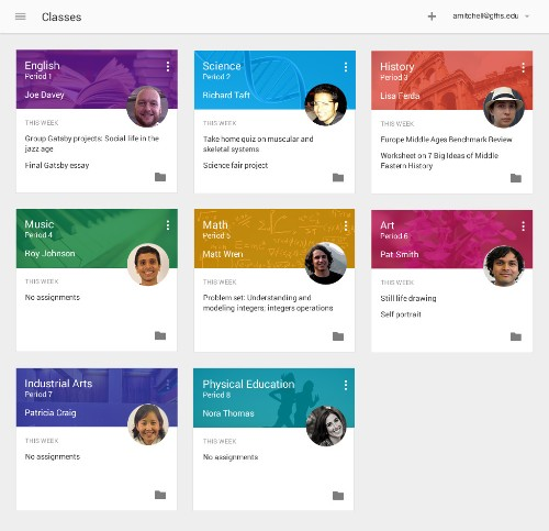 Google Debuts Classroom, An Education Platform For Teacher-Student Communication