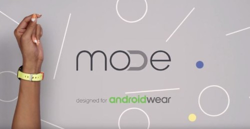 Android Wear gets a watch band standard via MODE