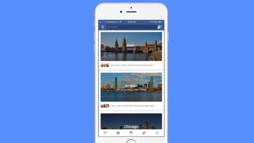 Facebook adds a travel-planning feature called 'City Guides'