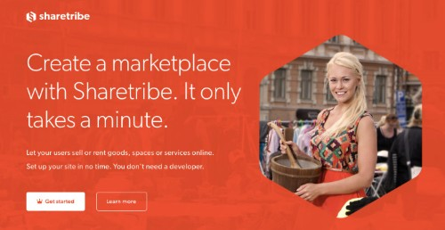 Sharetribe Lets You Create Your Own Peer-To-Peer Marketplace