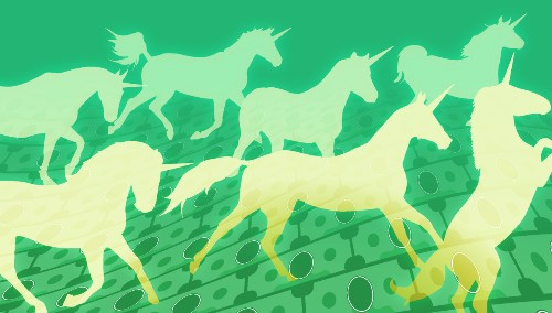 To get big faster, younger unicorns start buying startups sooner