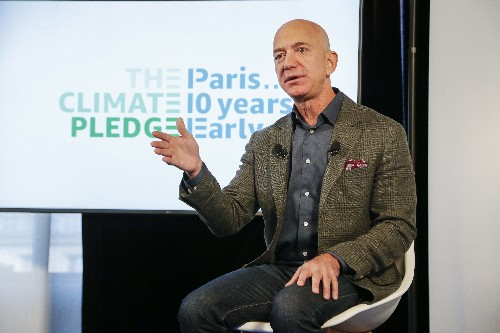 Amazon's 'climate pledge' commits to net zero carbon emissions by 2040 and 100% renewables by 2030