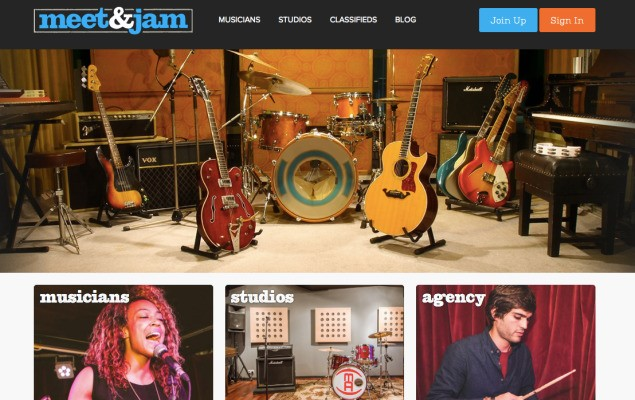 Meet & Jam Could Help You Form Your Next Supergroup (Or Simply Book A Rehearsal Studio)