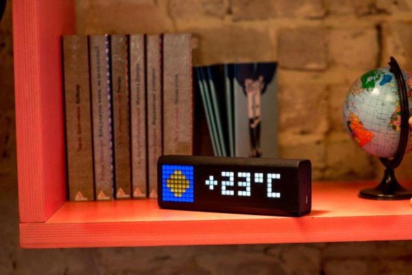 LaMetric Is A Smart And Hackable Ticker Display