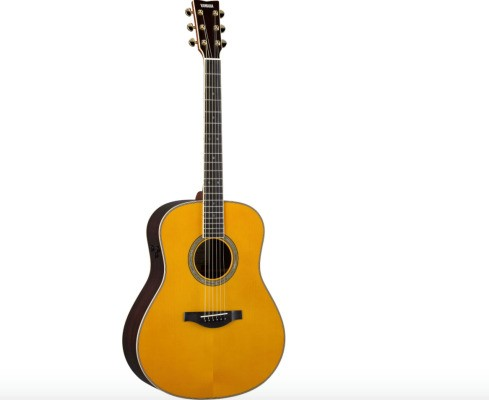 The Yamaha LL-TA Guitar turns a lonely little room into a concert hall
