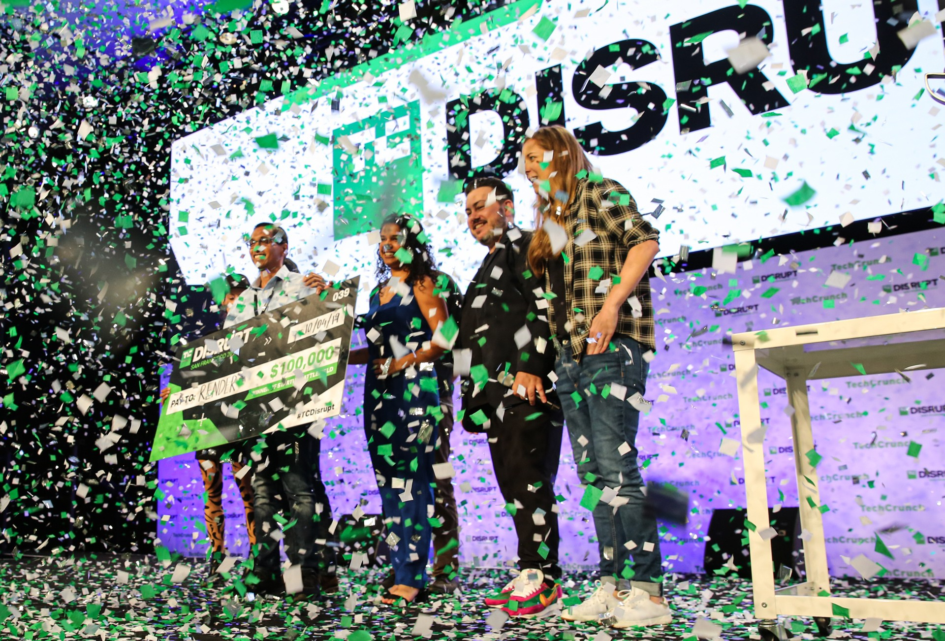 The Winner of the Startup Battlefield Is...