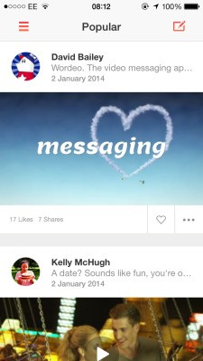Messaging App Wordeo Blends Text With Getty Stock Footage To Take Video Messaging More Mainstream