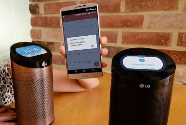 LG's Amazon Echo competitor will get Alexa functionality