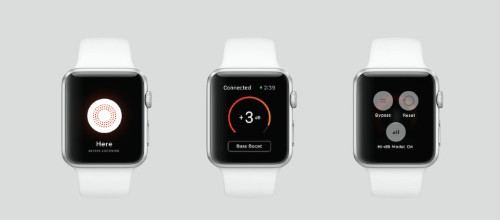 Here, the live audio listening system, gets an Apple Watch app