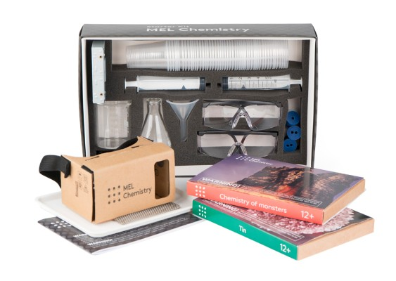 MEL Science raises $2.5 million to put a VR twist on chemistry sets
