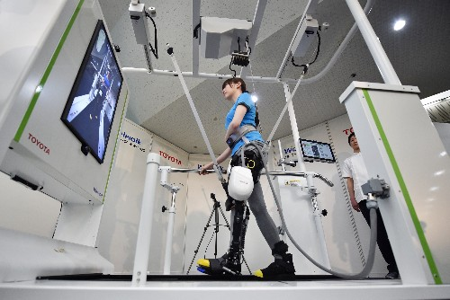 Toyota and Panasonic will showcase assistive robotics during the Tokyo Summer Olympics