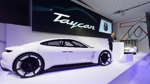 Porsche Taycan reservations surpass 30,000 ahead of world debut